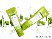 Гель для душа Мята и Лайм NATURIA PURE BODY WASH Wild Mint & Lime, 100 мл.