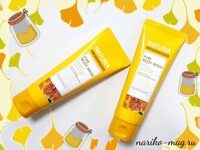 Гель для душа Мед и Лилия NATURIA PURE BODY WASH Honey & White Lily, 100 мл.