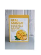 Тканевая маска для лица с экстрактом манго FarmStay Real Mango Essence Mask, 23мл.